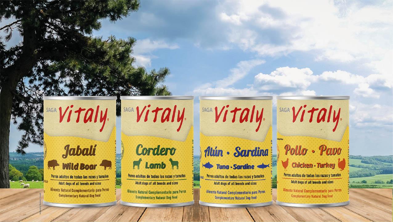 Alimento natural humedo para perro de Viitaly