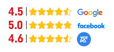 calificaciones de clientes en redes sociales